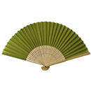 【2D9755】すす竹扇子 うぐいす